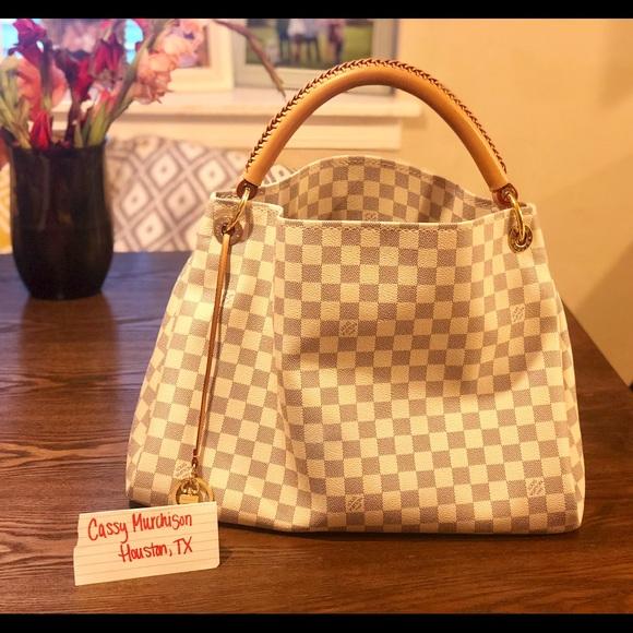 Louis Vuitton Bags Artsy Damier Azur Mm Bundle Poshmark